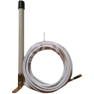Круговая 3G/4G антенна UMTS/LTE 1700-2700 МГц с усилением 6 дБ