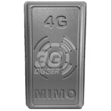 "Панельна2G/3G/4G GSM/UMTS/LTE/CDMA антена RNet ""Панель-17"" (MIMO 2x2) 824-960 / 1700-2700 МГц з посиленням17 дБ"