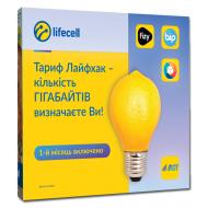 "Стартовый пакет Lifecell - Тариф ""Лайфхак"""