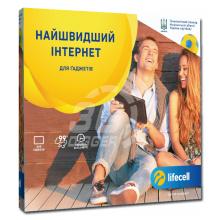 """Lifecell - Стартовый пакет """"3G+ Гаджет"""" / от 25 грн. на месяц"""