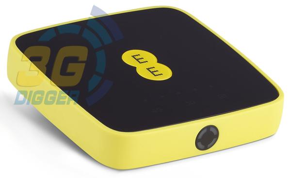 4G роутер Alcatel EE40VD вид под наклоном