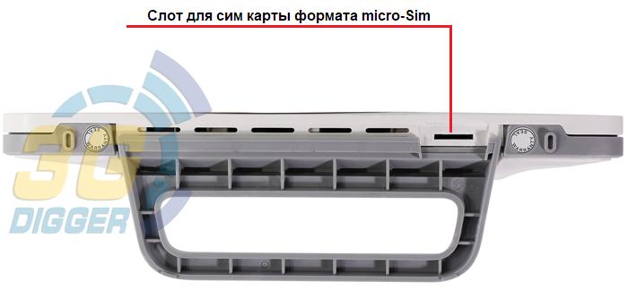 Слот для Sim карты Huawei B535-232