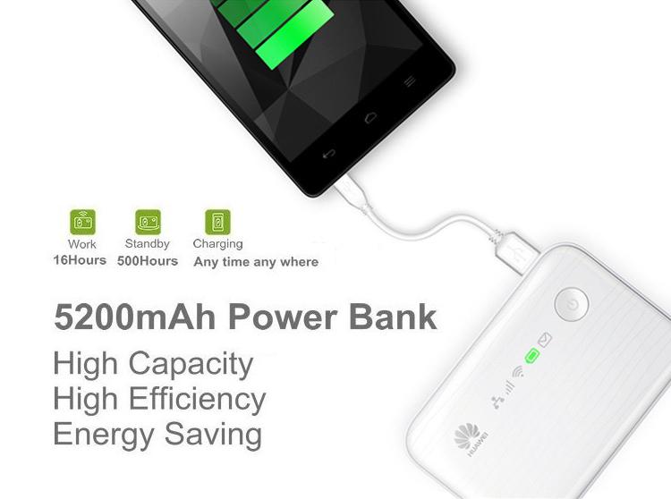 Функція Power Bank в Huawei E5730