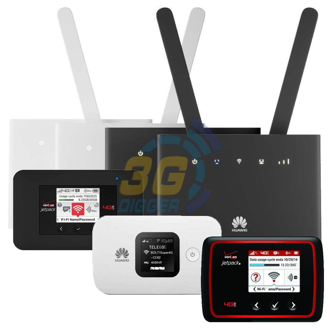 Мобільні та стаціонарні WiFi роутери