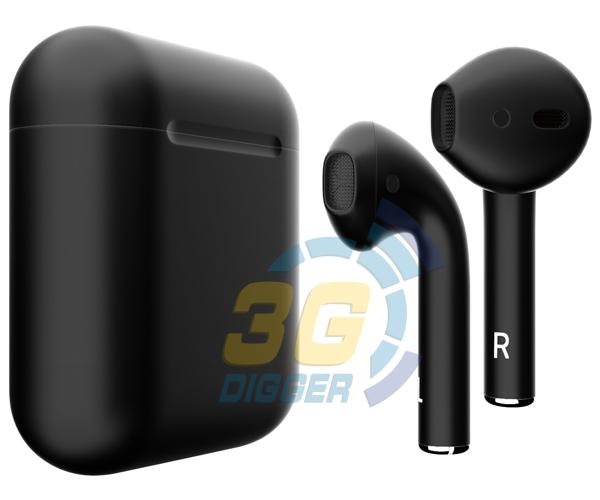 Наушники Apple AirPods Black с матовым покрытием