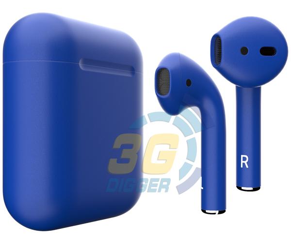 Наушники Apple AirPods Dark Blue с матовым покрытием