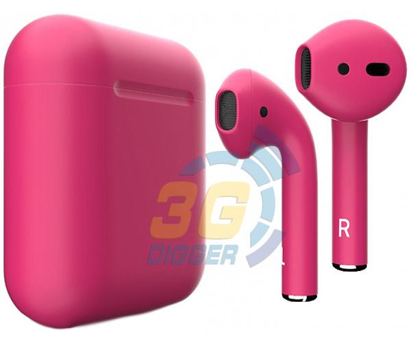 Наушники Apple AirPods Pink с матовым покрытием