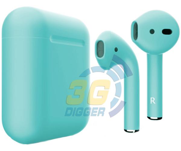 Наушники Apple AirPods Turquoise с матовым покрытием