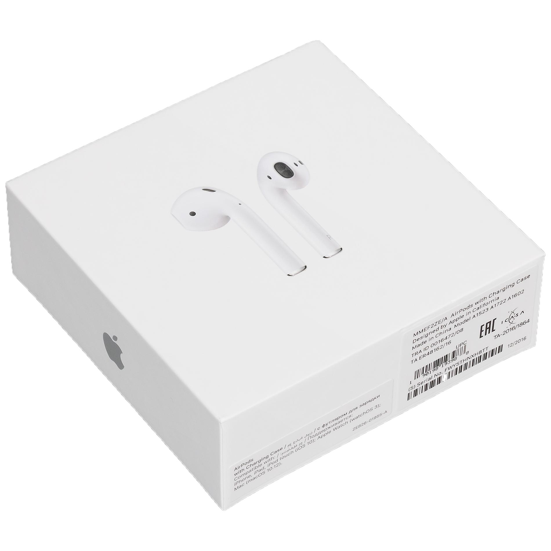 Оригинальная коробка Apple AirPods