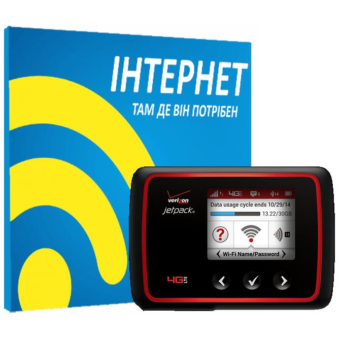 Резервный интернет с WiFi роутером Novatel MiFi 6620L